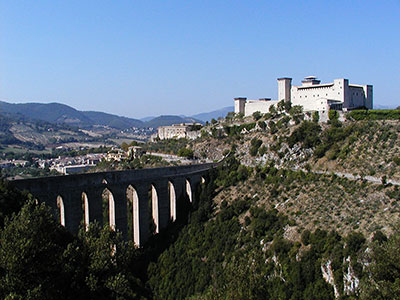 Rocca Albornoziana e Ponte delle Torri. Foto di Massimo Menghini