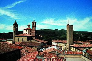 Veduta panoramica di Città di Castello