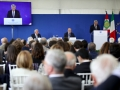 L'intervento del presidente del Centro, Nino Rizzo Nervo